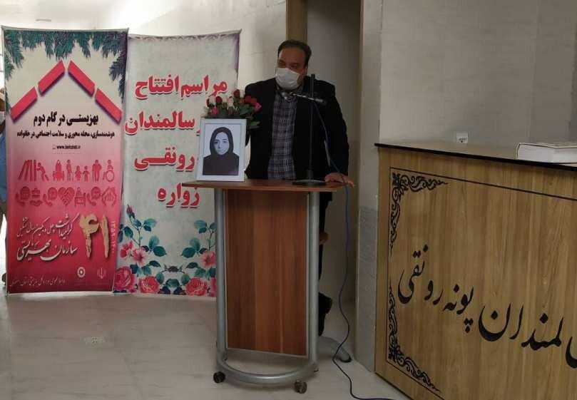 اردستان  روز پرکار مدیر کل بهزیستی استان در شهرستان اردستان