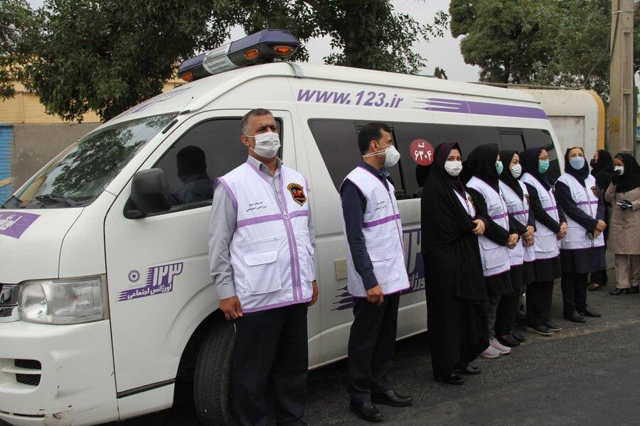 در رسانه  اجرای مانور سراسری اورژانس اجتماعی در فارس/ افزایش تماسها با ۱۲۳ در ایام کرونا