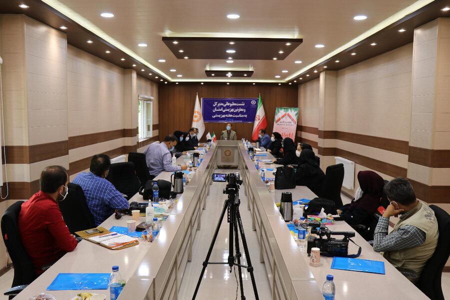 مصاحبه مطبوعاتی مدیرکل بهزیستی آذربایجان غربی با اصحاب رسانه