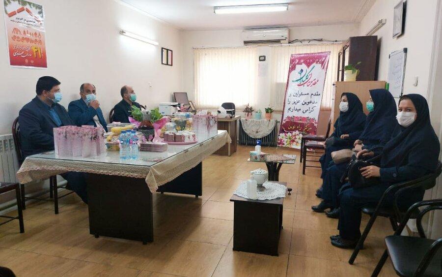 افتتاح مرکز سرپایی روزانه راه نوین به مناسبت گرامیداشت هفته بهزیستی در رشت