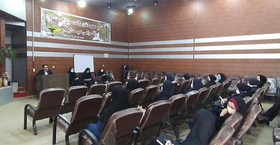 دیدار مدیرکل بهزیستی استان گیلان با همکاران اداره بهزیستی شهرستان لاهیجان به مناسبت هفته بهزیستی