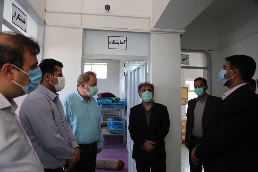 بازدید مدیرکل بهزیستی مازندران از مرکز اقامتی میان مدت اطلس سبز کیاسر