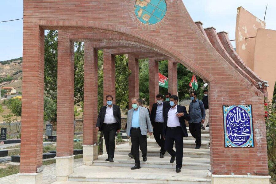 مدیرکل بهزیستی مازندران به مقام شامخ شهدا ادای احترام کرد