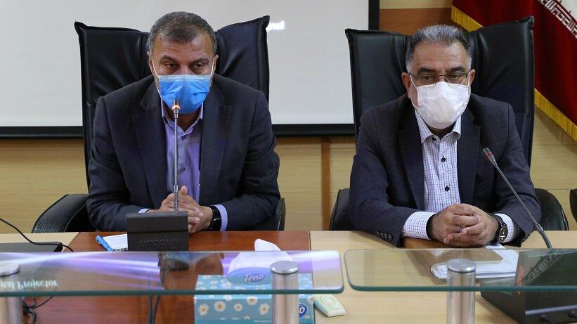 نشست سرپرست بهزیستی هرمزگان با نماینده مردم هرمزگان در مجلس شورای اسلامی