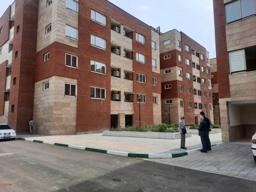 افتتاح واحد های مسکونی مددجویی در مشهد