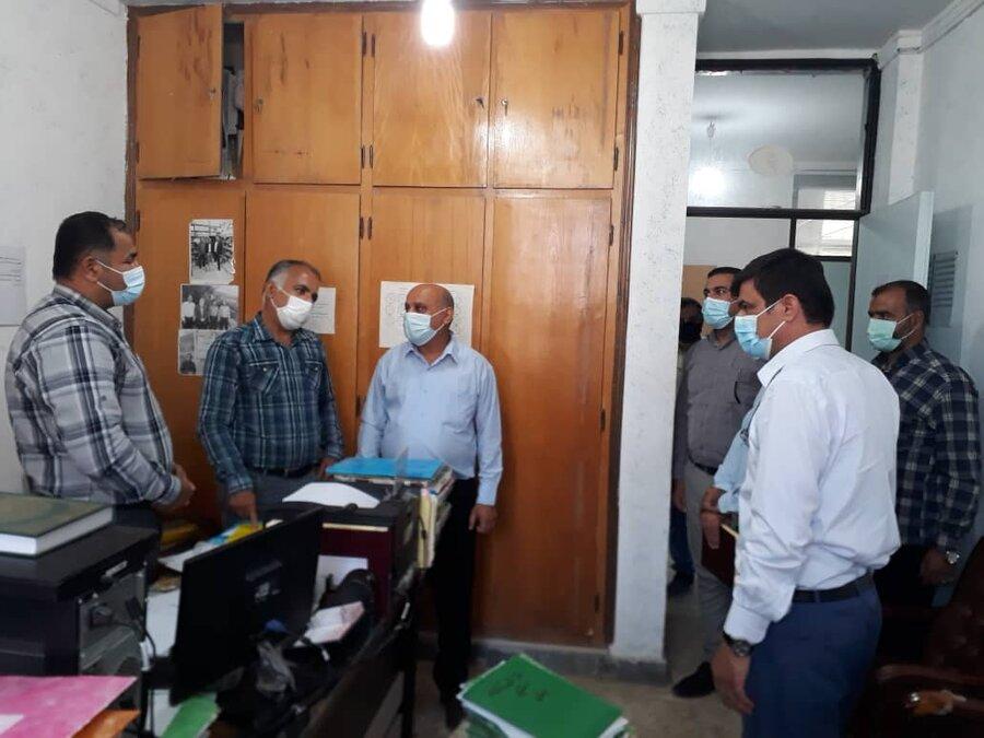 دیلم|منتخبین ششمین دوره شورای اسلامی شهر دیلم با رئیس و کارکنان اداره بهزیستی دیدار کردند