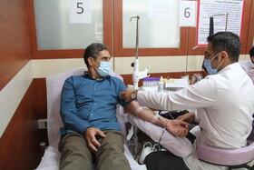 گزارش تصوری| اهدا خون کارکنان بهزیستی ایلام به بیماران نیازمند