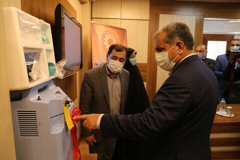 گزارش تصویری | بازدید استاندار قزوین از اداره کل بهزیستی استان بمناسبت گرامیداشت هفته بهزیستی