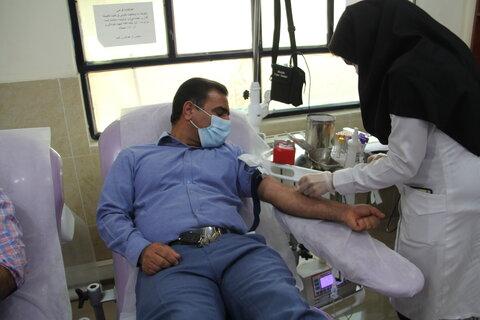 اهدا خون
