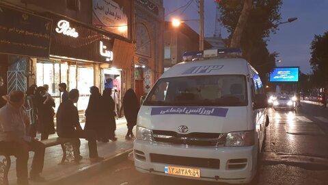 گزارش تصویری | استقرار و معرفی خدمات 123 در مساجد
