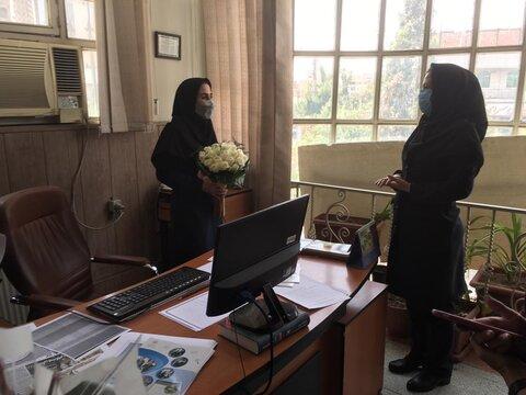 دیدار مدیران مراکز مثبت زندگی با رئیس و کارکنان بهزیستی