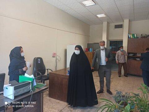 دیدار مدیر کل  بهزیستی استان کرمانشاه ومعاونین با پرسنل