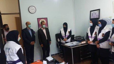 نور / حضور فرماندار نور در اداره بهزیستی شهرستان