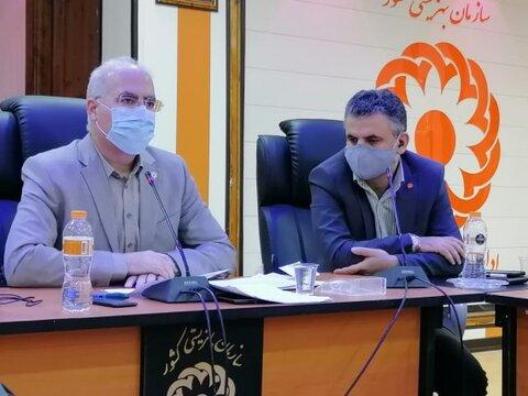 گزارش تصویری نشست خبری مدیر کل بهزیستی استان