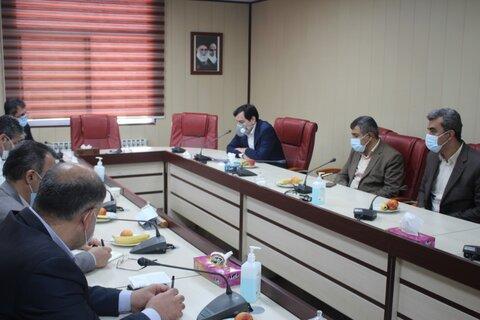 حضور همه مدیران کل عضو شورای رفاه جهت تبریک هفته بهزیستی در اداره کل بهزیستی استان البرز