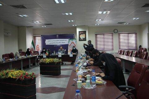 برگزاری نشست خبری مدیر بهزیستی شهرستان
