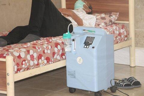 گزارش تصویری| واگذاری ۲۰۹ دستگاه اکسیژن ساز به مراکز سالمندان استان تهران