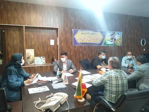 اشتهارد   برگزاری نشست صمیمانه مسئولین شهرستان با رئیس بهزیستی اشتهارد