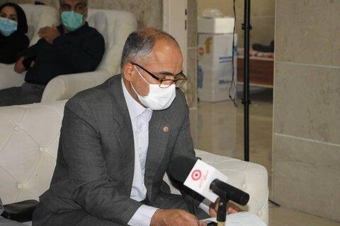 واگذاری ۲۰۹ دستگاه اکسیژن ساز به مراکز سالمندان استان تهران