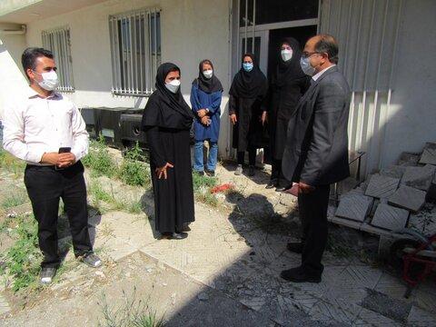 گزارش تصویری/ بازدید معاونان بهزیستی استان از اورژانس اجتماعی بستان آباد