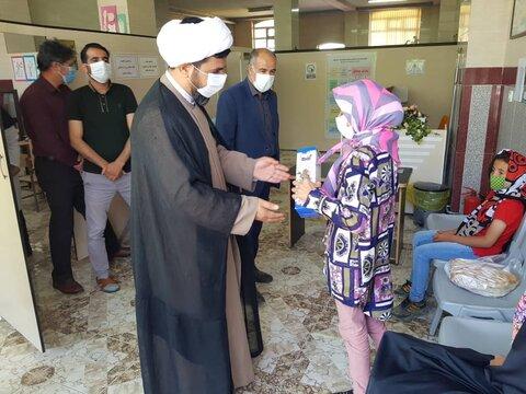 گزارش تصویری/ بازدید امام جمعه هریس از مرکز آموزشی کودکان
