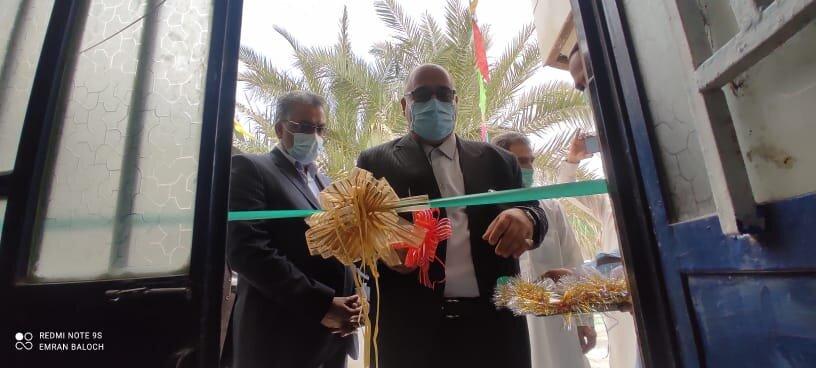 افتتاح مراکز کانکس کاهش آسیب  و پایگاه های سلامت اجتماعی شهرستان سراوان