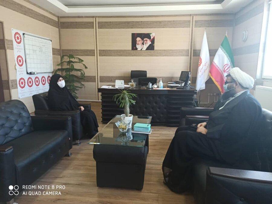 دیدار مشاور استاندار کرمانشاه بامدیرکل بهزیستی استان /تبریک هفته بهزیستی