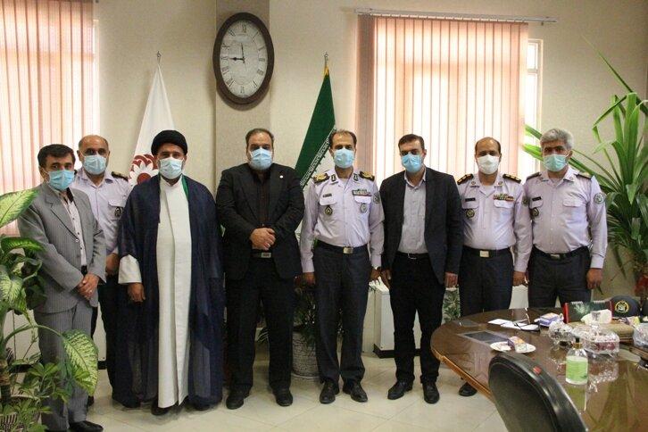 گزارش تصویری| دیدار مسئولین استان با مدیر کل بهزیستی