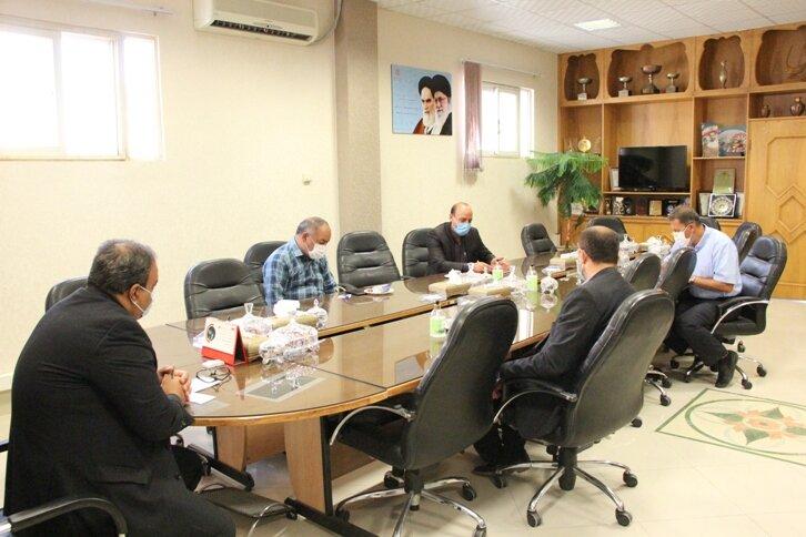 دیدار دکتر ولی اله نصر مدیر کل بهزیستی استان با انجمن حامیان فردای روشن  استان در ششمین