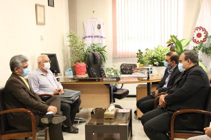 دیدار دکتر ولی اله نصر مدیر کل بهزیستی استان با مدیر مراکز مشاوره ژنتیک استان