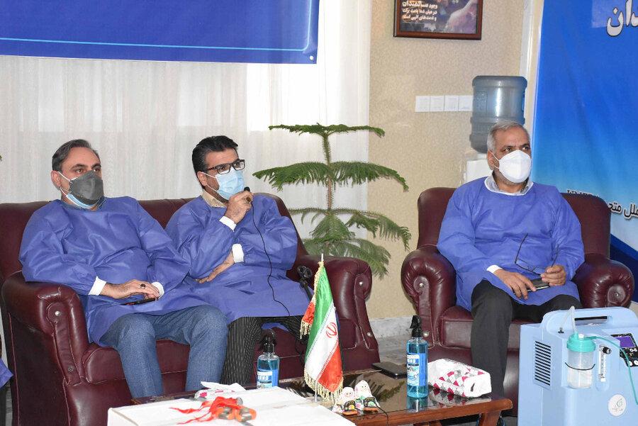 گزارش تصویری | مراسم اهدای ۹۷دستگاه اکسیژن ساز به مراکز سالمندان بهزیستی خراسان رضوی