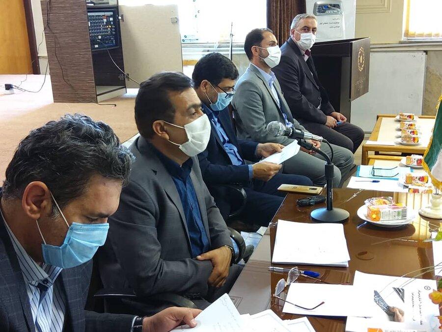 نشست خبری مدیر کل بااصحاب رسانه به مناسبت هفته بهزیستی