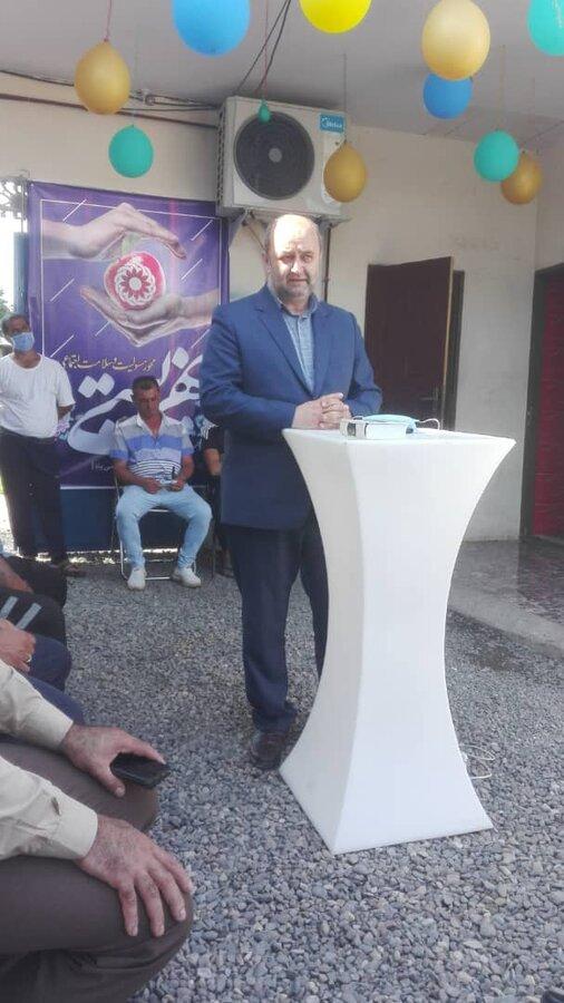 افتتاح مرکز بهبودی اقامتی آخرین ایستگاه زندگی  به مناسبت هفته بهزیستی در بخش خشکبیجار شهرستان رشت