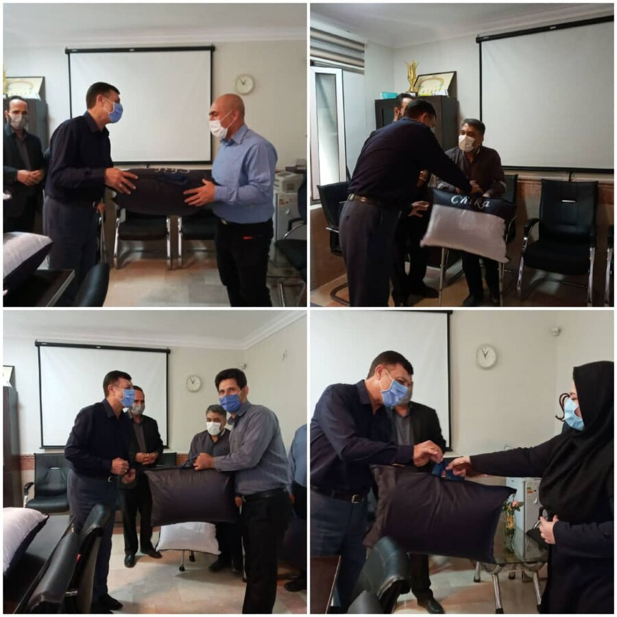 نظرآباد   رئیس بهزیستی شهرستان نظرآباد از تمامی همکاران خود تقدیر کرد