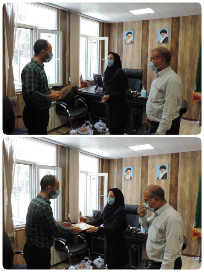 طالقان   رئیس اداره مبارزه با مواد مخدر شهرستان طالقان با رئیس بهزیستی دیدار کرد