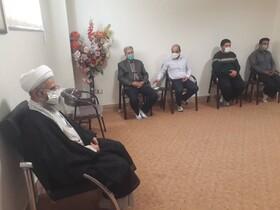گزارش تصویری/ دیدار امام جمعه اهر با کارکنان اداره بهزیستی شهرستان اهر