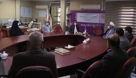 نشست صمیمی مدیر عامل جمیعت هلال احمر استان با مدیر کل بهزیستی به مناسبت هفته بهزیستی