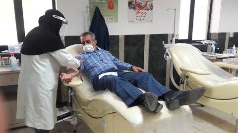 گزارش تصویری   شاهرود   اهدای خون بمناسبت هفته بهزیستی