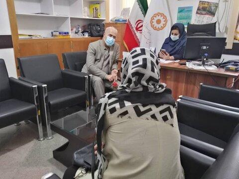 ملاقات مردمی مدیر کل بهزیستی استان بوشهربا جامعه هدف