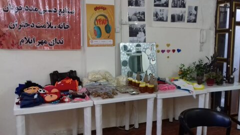 گزارش تصویری|نمایشگاه خانه سلامت ایلام