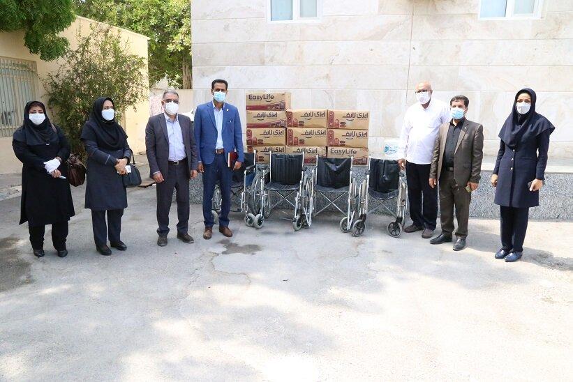 بازدید از مرکز نگهداری معلولین ذهنی حبیب بن مظاهر