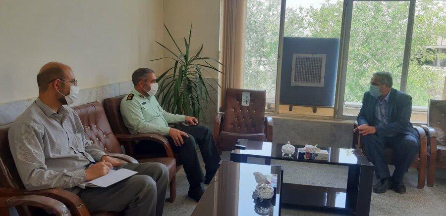 برخوار  بهزیستی و نیروی انتظامی دو بازوی مهم مقابله با آسیب های اجتماعی