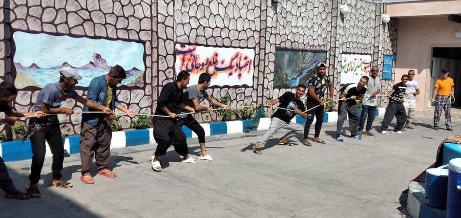 برگزاری مسابقات ورزشی میان مددجویان مقیم مراکز اقامتی ترک اعتیاد