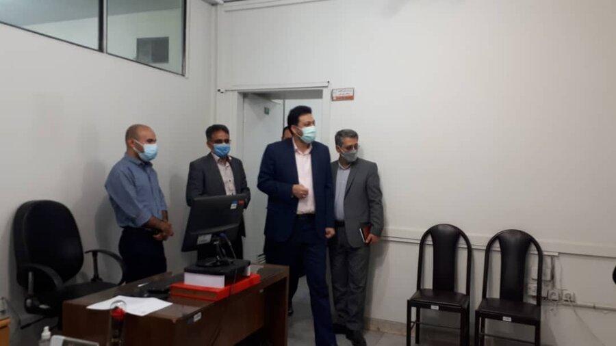 شهرری| دیدار سرزده فرماندار ویژه ری از ستاد مدیریت بهزیستی شهرستان
