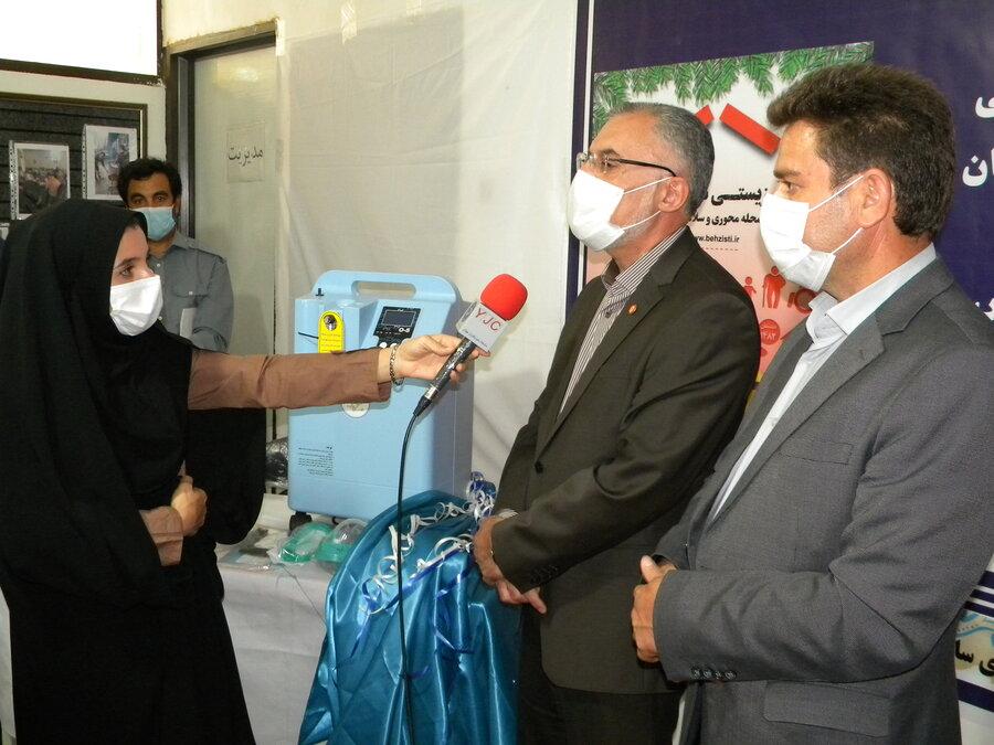 اردبیل - مراسم اهدای 19 دستگاه اکسیژن ساز