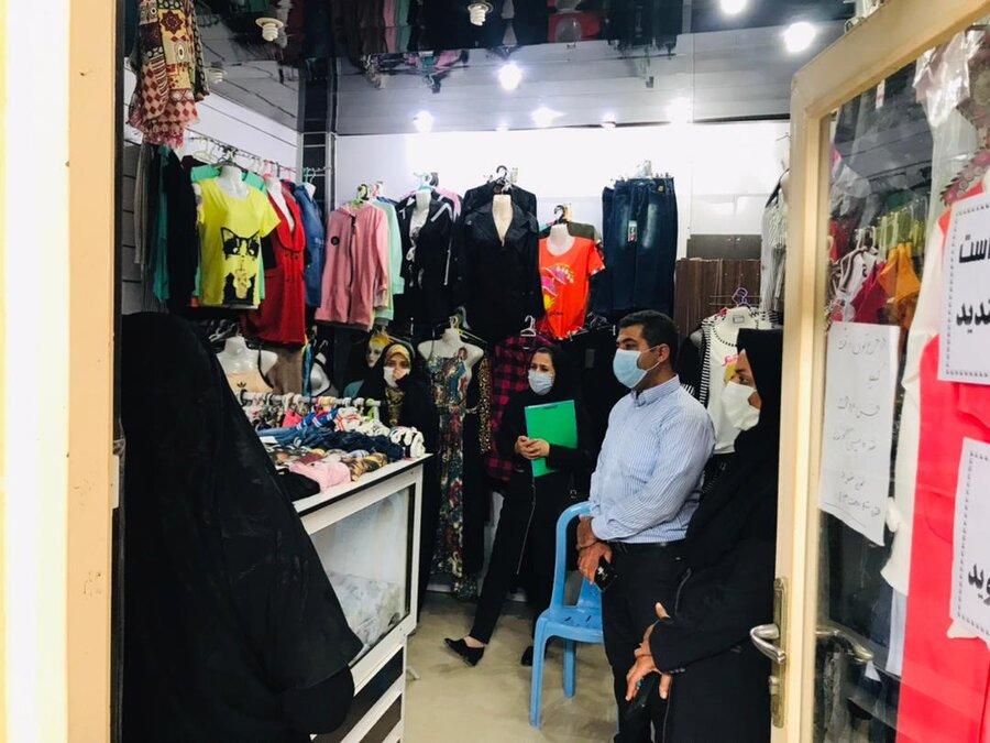 دیر|بازدید از گروه همیار زنان سرپرست خانوار