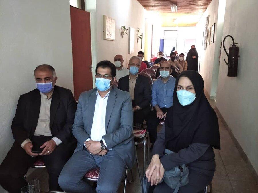 افتتاح مرکز حرفه آموزی مهر جهان به مناسبت هفته بهزیستی در روستای کماچال شهرستان آستانه اشرفیه