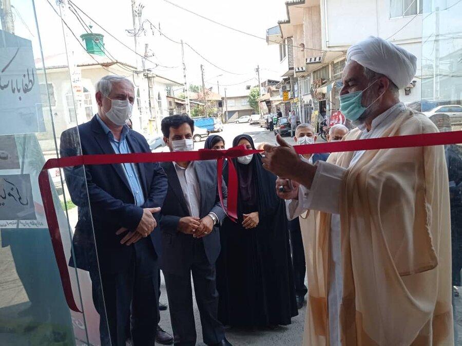 افتتاح طرح خود اشتغالی به مناسبت هفته بهزیستی در املش