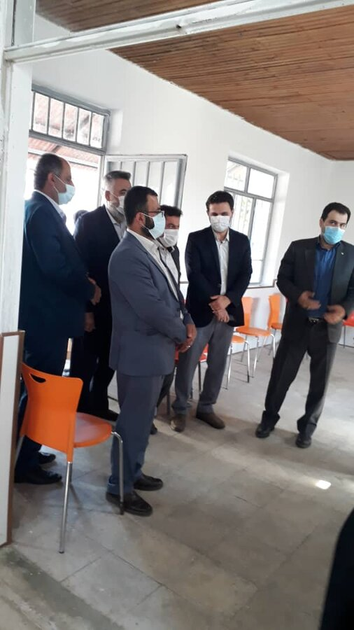 افتتاح پایگاه اورژانس اجتماعی (۱۲۳) به مناسبت هفته بهزیستی در شهرستان خمام