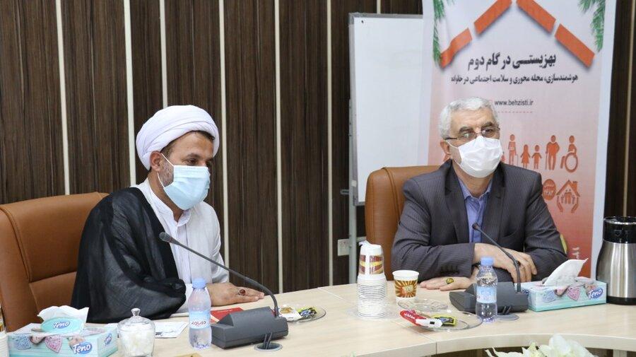 نشست مدیرکل بهزیستی گیلان با اعضای بنیاد الغدیر استان